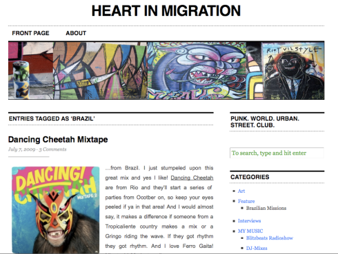 Heart In Migration